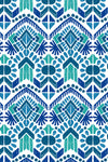 Seaforth Blue Fabric