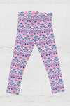 Juniors UPF 40 Seaforth Pink Leggings