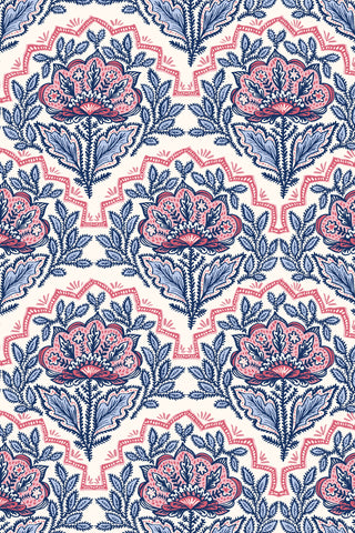 Chinoiserie Blossom Fabric, Color Sunshine