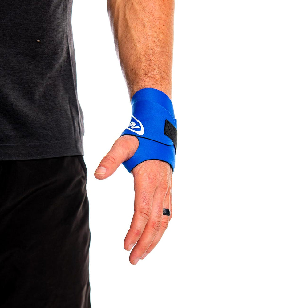 double wrist wrap front view