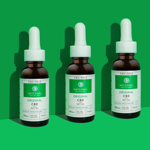 Naternal Broad Spectrum CBD Oil