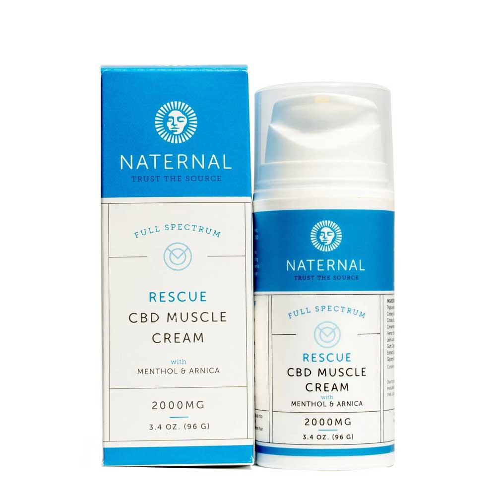 Rescue CBD Muscle Cream 2000mg