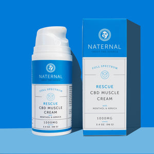 Rescue CBD Muscle Cream 1000mg