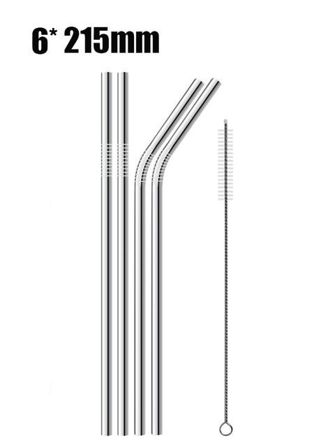 Stainless Steel Straw Set | Buy One, Get One 50% OFF!