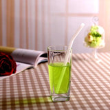 1 Glass Straw With Case (Choose Color) - Cheapstraws.com
