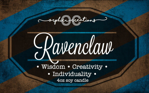 Ravenclaw Candle