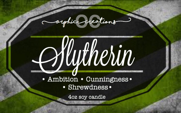 Slytherin Candle