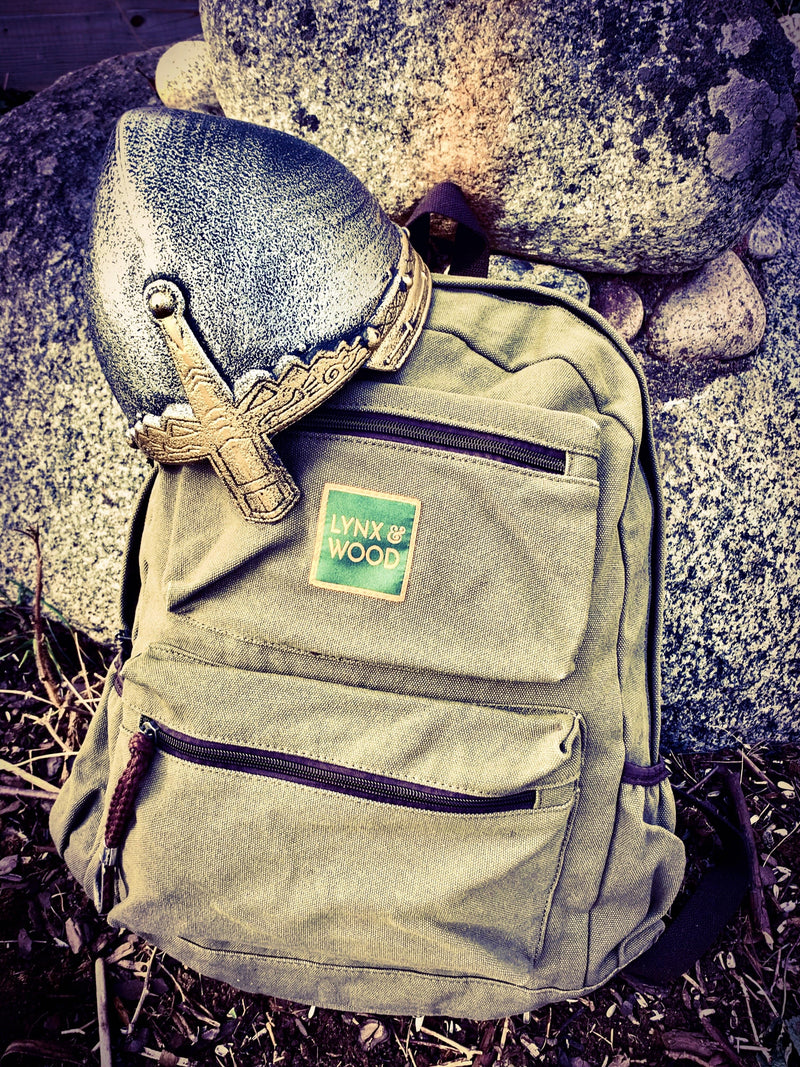 Lynx & Wood Bags & Backpacks Birka Backpack – Hop Green