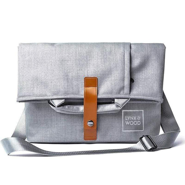 Lynx & Wood Bags & Backpacks Shapeshifter Messenger bag – Runestone Grey
