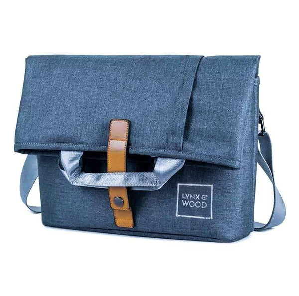 Lynx & Wood Bags & Backpacks Shapeshifter Messenger bag – Sea Blue