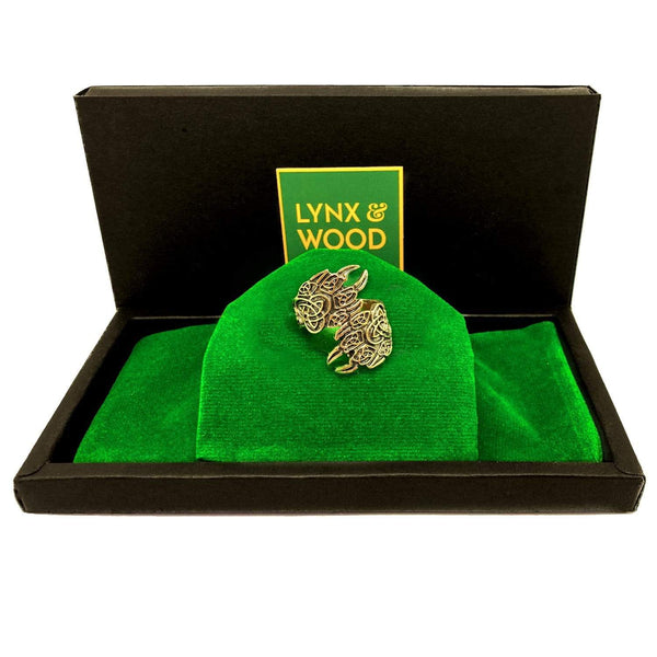 Lynx & Wood Jewelry Lynx Paws Gold – Ring