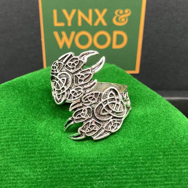 Lynx & Wood Jewelry Lynx Paws Steel – Ring