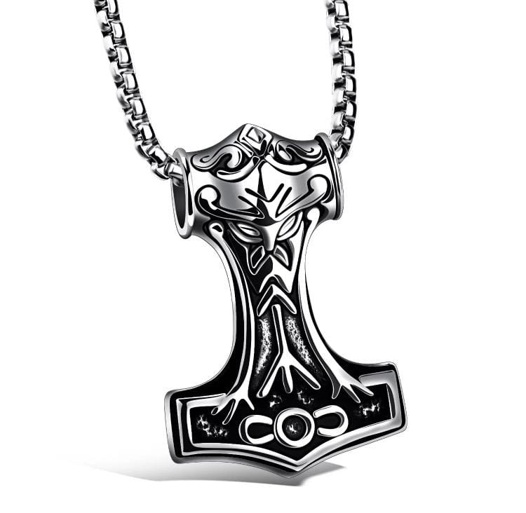 Lynx & Wood Jewelry Mjölnir of Asgard – Necklace