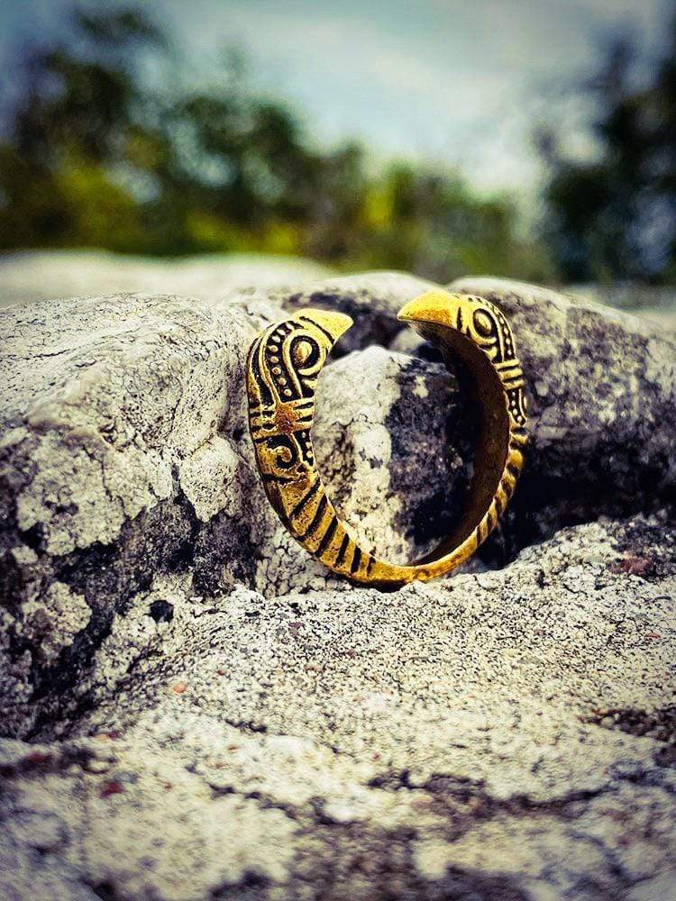 Lynx & Wood Jewelry Ravens Gold – Ring
