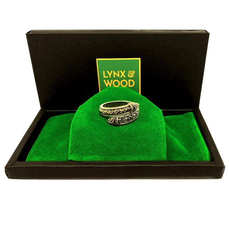 Lynx & Wood Jewelry Snake of Midgard, Gold – Ring