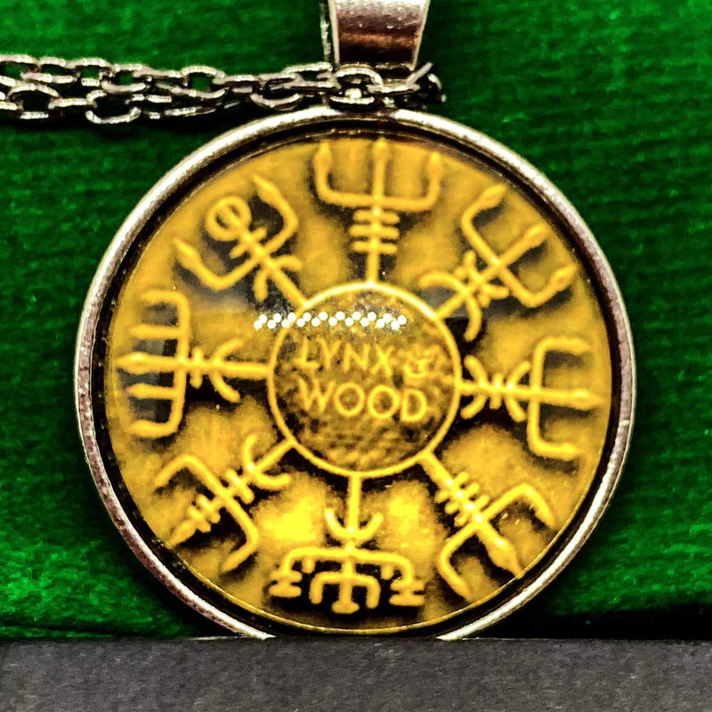 Lynx & Wood Jewelry Vegvisir – Necklace