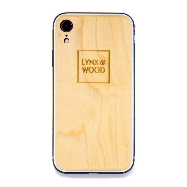Lynx & Wood Phone Case Mimers Maple – iPhone XR