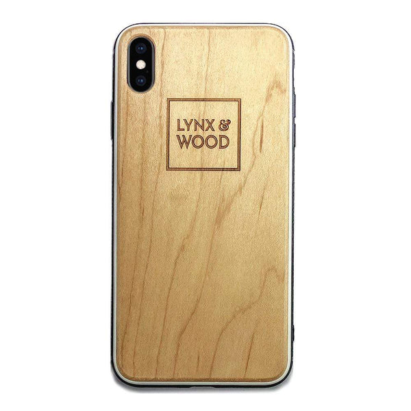 Lynx & Wood Phone Case Mimers Maple – iPhone XS Max