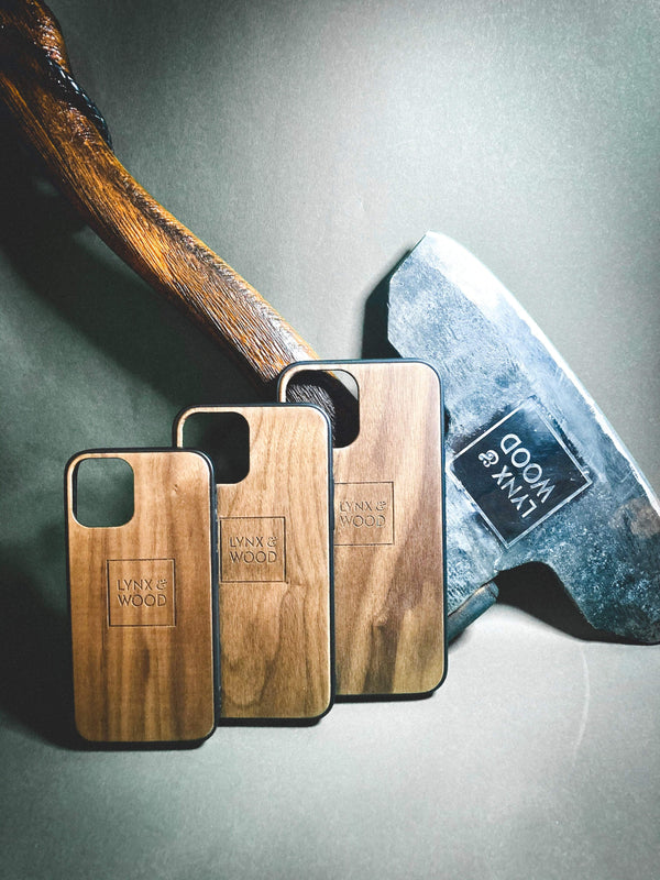 Lynx & Wood Phone Case Valhalla Walnut – iPhone 12 mini