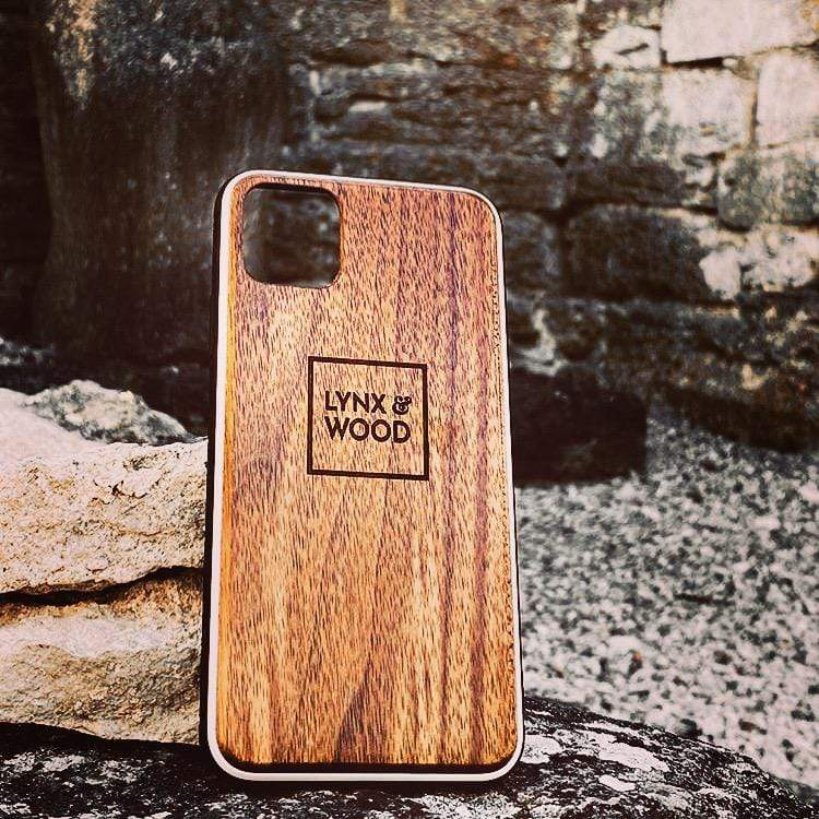 Lynx & Wood Phone Case Valhalla Walnut – iPhone XR