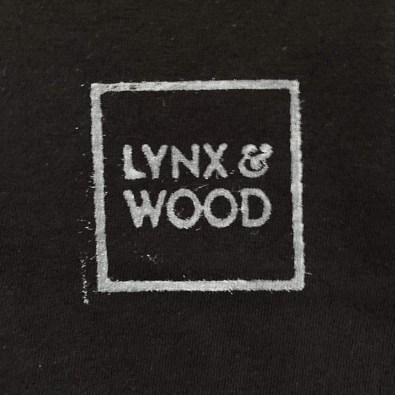 Lynx & Wood T-shirt Stamped by Viking T-shirt – Svartalfheim Black