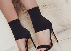 Fashionista Open Toe High Heels