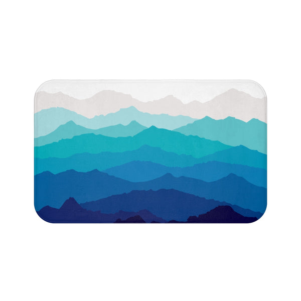 Blue Mist Mountain Bathmat
