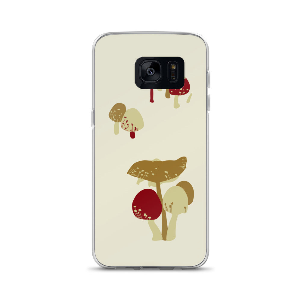Merry Mushrooms Samsung Case