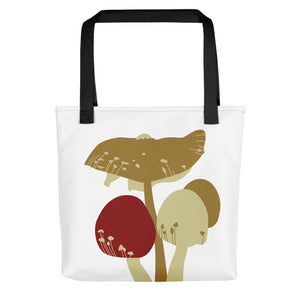 Merry Mushrooms Tote Bag