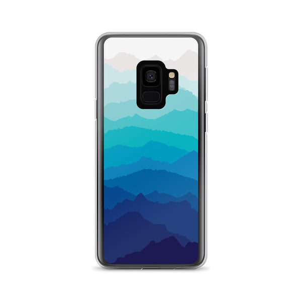 Blue Mist Mountain Samsung Case
