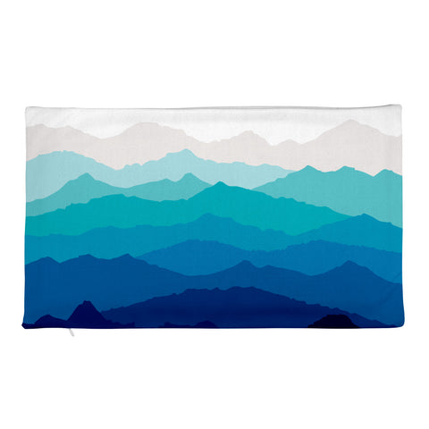 Blue Mist Mountain Pillowcase