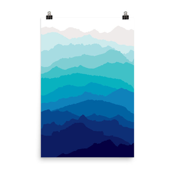 Blue Mist Mountain Print (unframed)