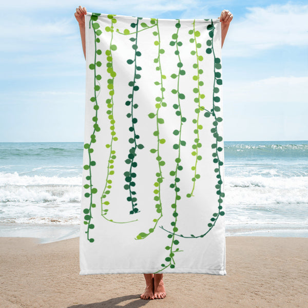 String of Pearls Towel