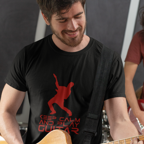 Keep Calm And Play Guitar - Shirt - GUITAR VISION