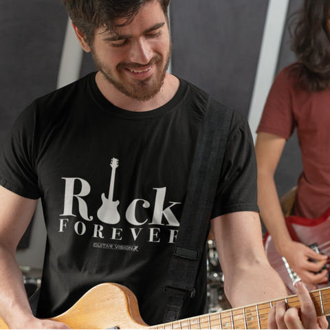 Rock Forever - Shirt - GUITAR VISION