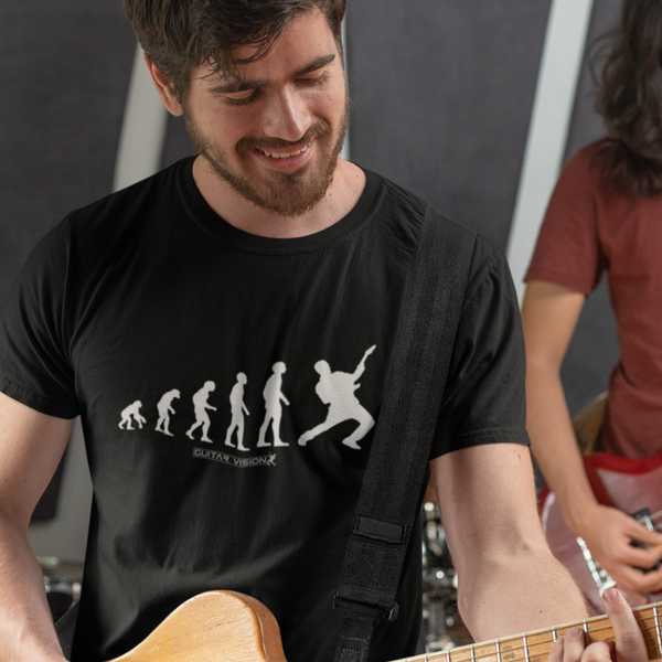 Guitar Evolution - Shirt - GUITAR VISION