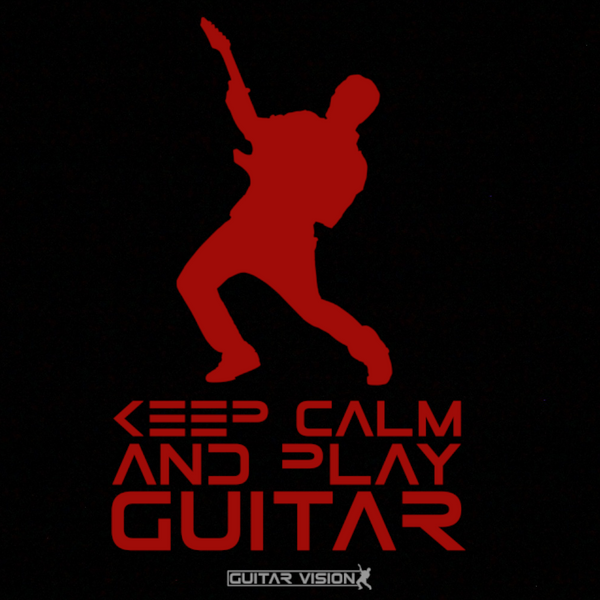 Keep Calm And Play Guitar - Hoodie - GUITAR VISION