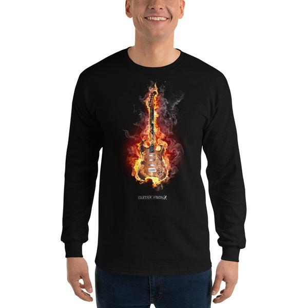 Guitar On Fire - Pulli - GUITAR VISION