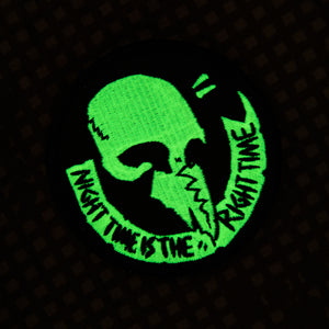 Night Time Is The Right Time Patch (GITD)