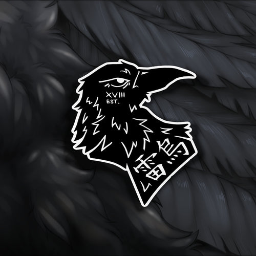All-Seeing Crow Sticker