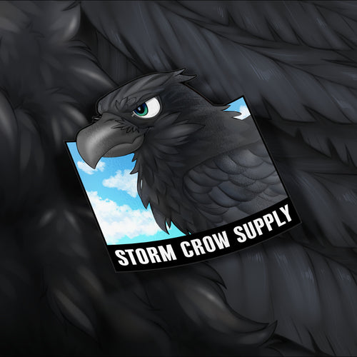 Day-Time Crow Sticker