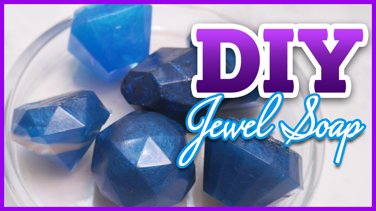 DIY Jewel Soap
