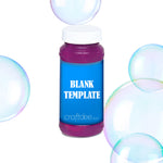Bubble Bottle Wrapper Label - 4oz