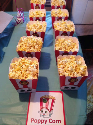 "3"" Poppy Corn Popcorn Box Original"