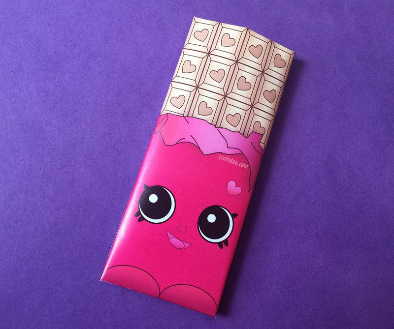 Cheeky Chocolate Wrappers PINK