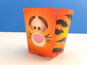 Tigger Popcorn Boxes - Tsum Tsum Birthday Party