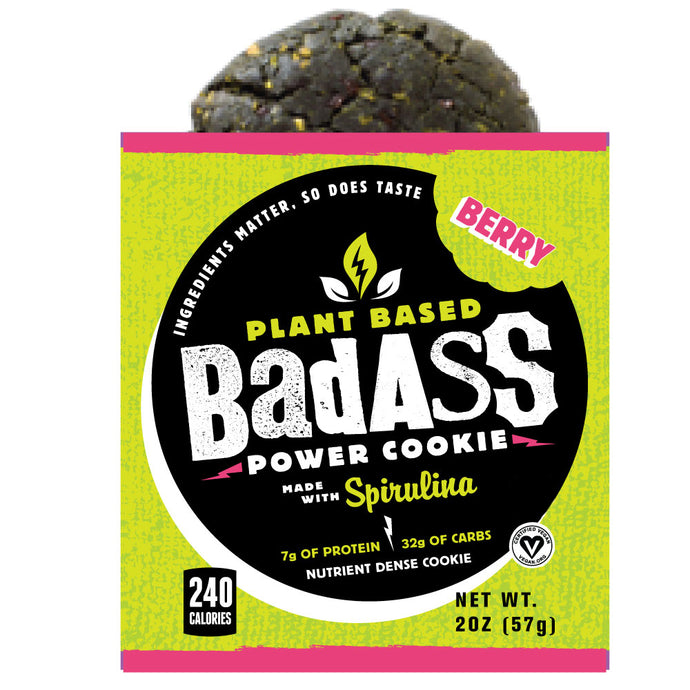 Berry Badass Power Cookie | Box of 8