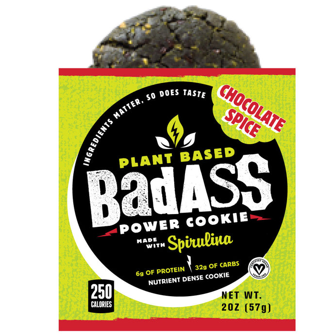 Chocolate Spice Badass Power Cookie | Box of 8