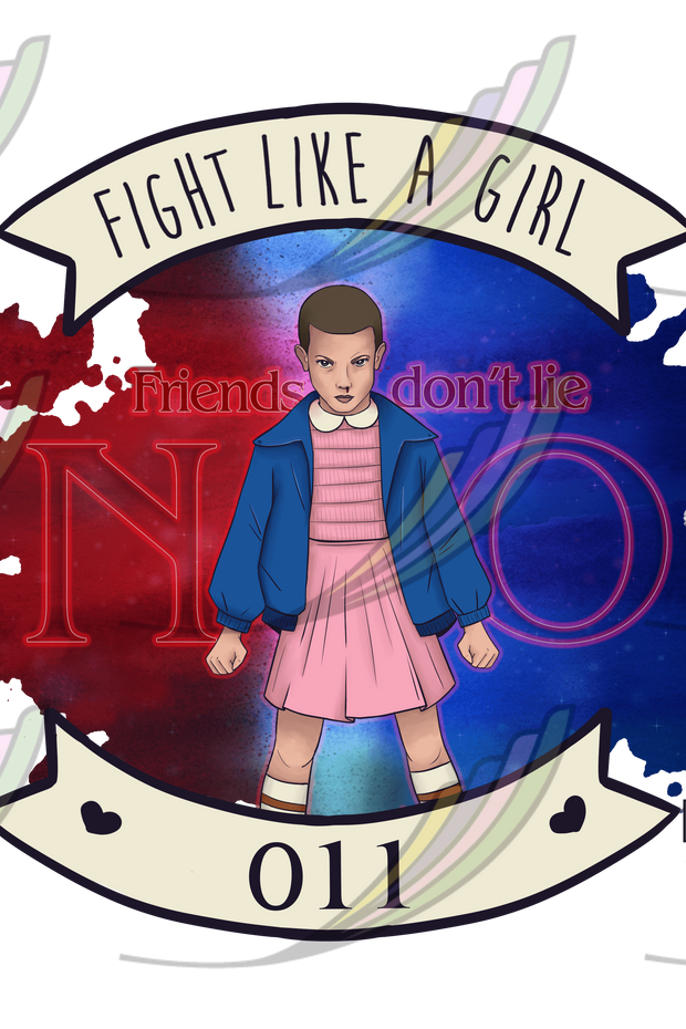 Camiseta Fight Like a Girl® - Eleven