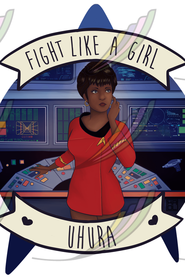 Caneca Fight Like a Girl® - Uhura